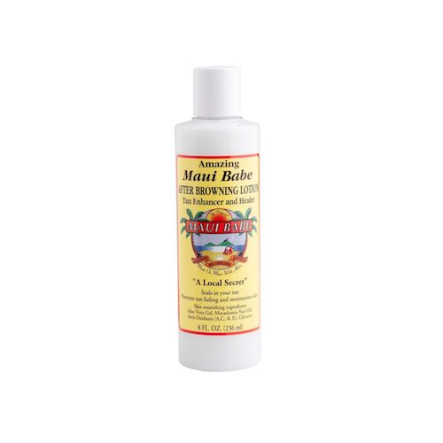 Maui Babe After Browning Lotion, $24.00 for 8 oz.